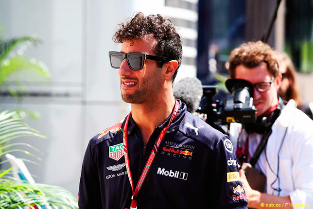 Даниэль Риккардо покинет команду «Формулы-1» Red Bull поокончании сезона