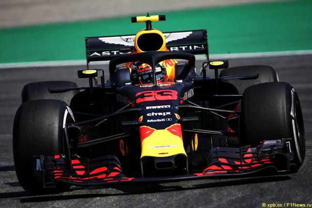 Гран При Германии. Макс Ферстаппен