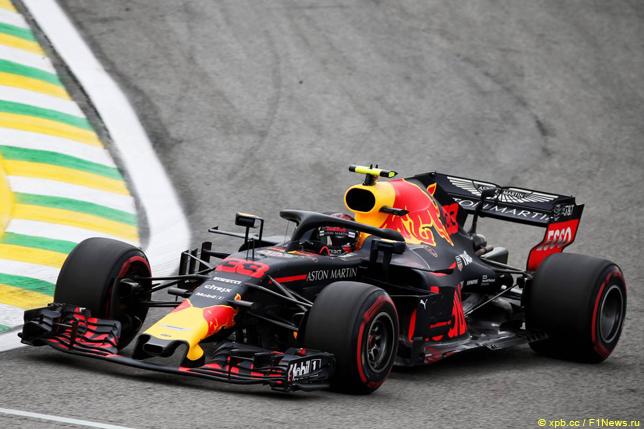 Гран При Бразилии. Макс Ферстаппен