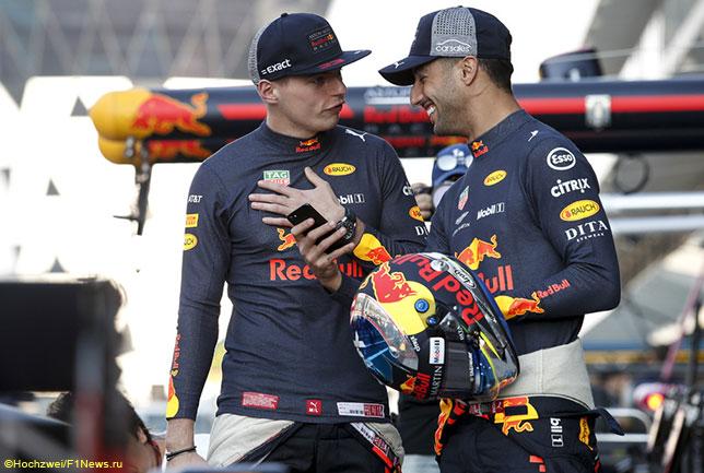 Недавний Гран При Абу-Даби стал последней гонкой, которую Макс Ферстаппен и Даниэль Риккардо провели в качестве напарников
