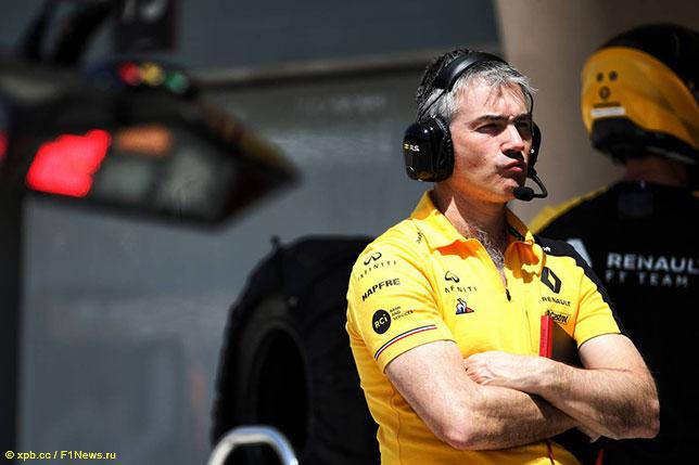 Ник Честер, технический директор Renault