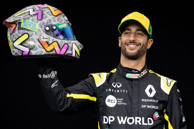 Даниэль Риккардо (фото пресс-служба Renault)