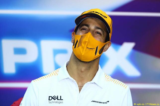 Гран При Бахрейна. Даниэль Риккардо