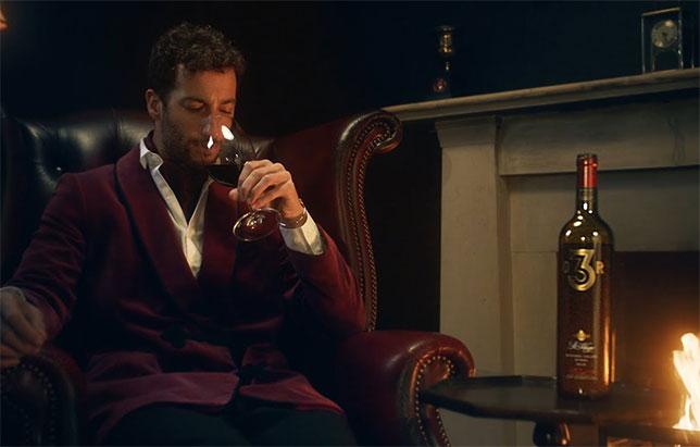 Даниэль Риккардо и его вино