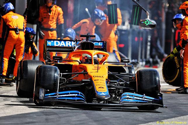 Даниэль Риккардо возвращается на трассу Гран При Португалии после пит-стопа