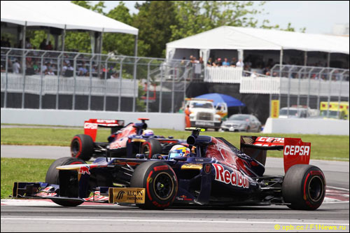 Пилоты Toro Rosso на Гран При Канады