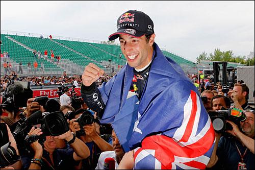 Даниэль Риккардо - победитель Гран При Канады