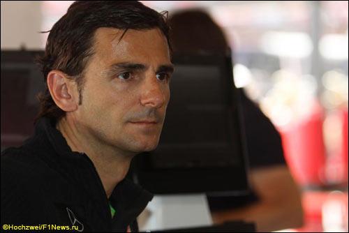 Резервный гонщик McLaren Педро Мартинес де ла Роса