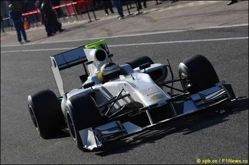 Педро де ла Роса за рулем F111