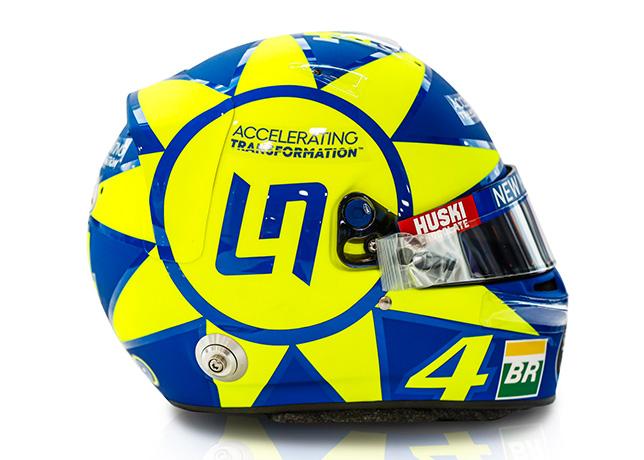 Шлем Ландо Норриса для Гран При Италии 2019 года