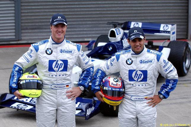 Ральф Шумахер и Хуан-Пабло Монтойя, 2004 год