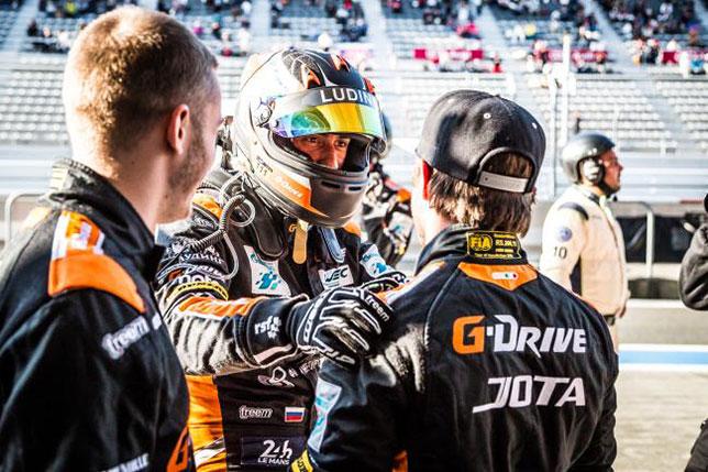 Русская команда G-Drive Racing одолела вгонках навыносливость