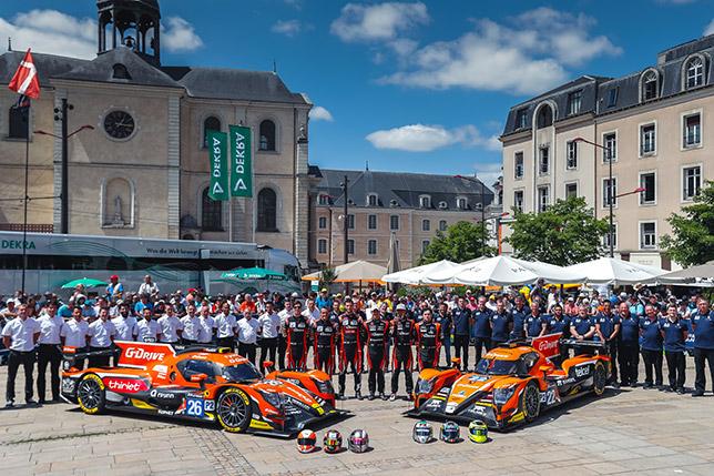 Команда G-Drive Racing в Ле-Мане