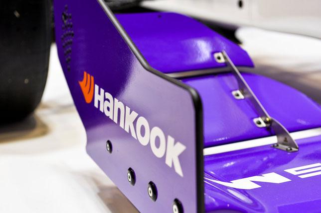 Hankook – поставщик шин для серии W