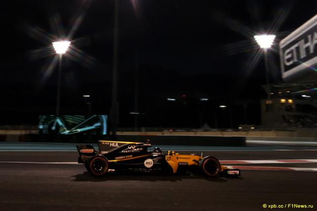 Гран При Абу Даби. Нико Хюлкенберг
