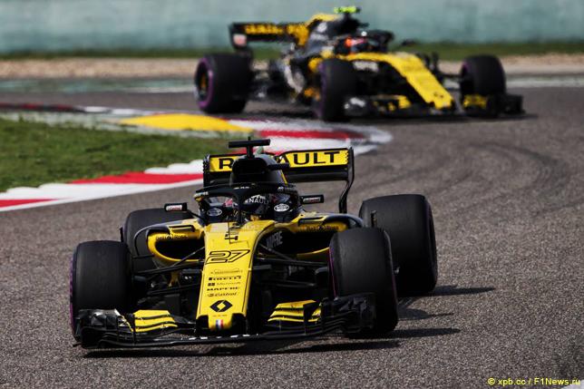 Гран При Китая. Гонщики Renault