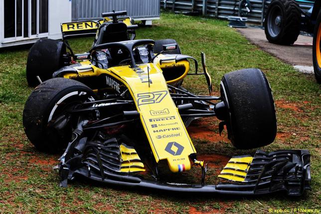 Гран При Бразилии. Машина Нико Хюлкенберга