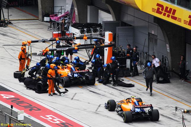 赛车迈凯轮评论这一事件,Kvyat