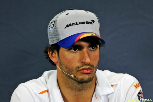 Гран При Испании. Карлос Сайнс