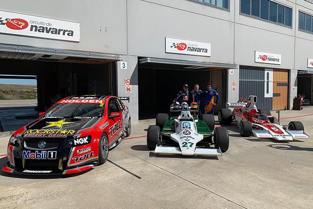 Holden Commodore Supercar, Williams FW07 и Lola T332