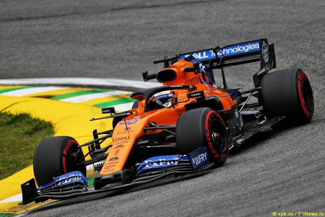 Гран При Бразилии. Карлос Сайнс