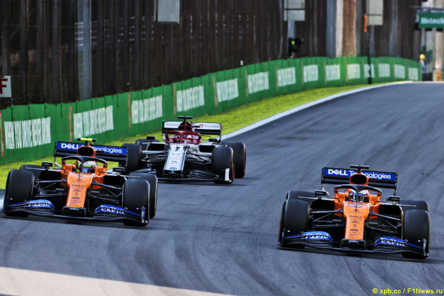 Гран При Бразилии. Гонщики McLaren