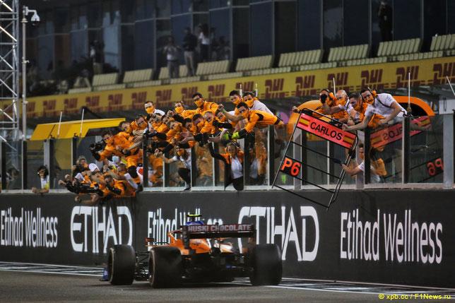 В McLaren приветствуют Ландо Норриса