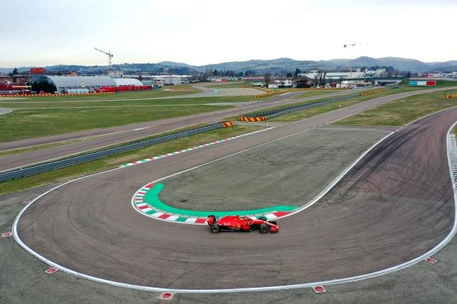 Карлос Сайнс на тестах во Фьорано, фото пресс-службы Ferrari
