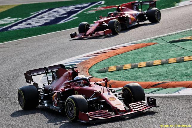 Гран При Италии. Спринт. Гонщики Ferrari