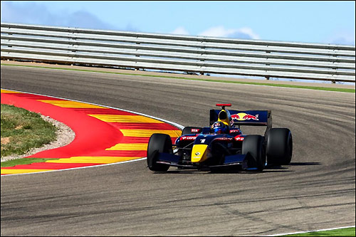 Карлос Сайнс на трассе Motorland Aragon