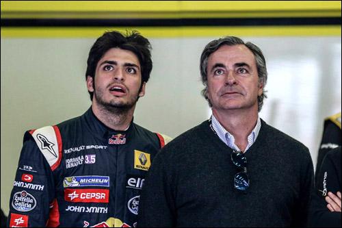 Карлос Сайнс-младший и его отец