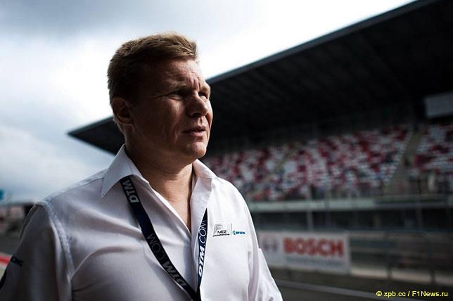 Мика Сало на автодроме Moscow Raceway, 2016 год
