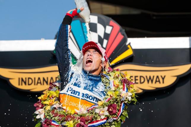 Такума Сато - двукратный победитель Indy 500, фото пресс-службы IndyCar
