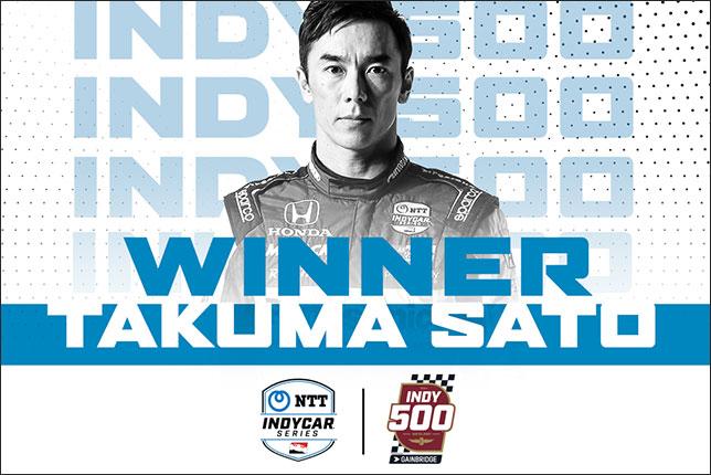 Indy 500: Победил Сато, Алонсо финишировал 21-м