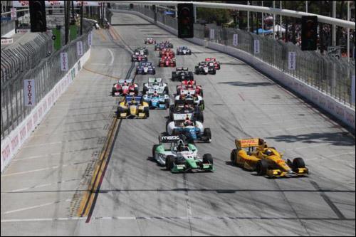 Гонка IndyCar в Лонг-Бич