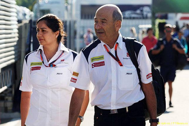 Петер Заубер и Мониша Кальтенборн, Гран При Италии, Монца, 2015 год
