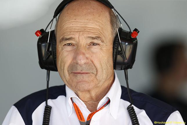 Петер Заубер на Гран При Испании 2015 года