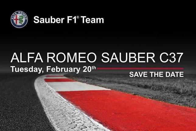 Дата презентации Sauber C37
