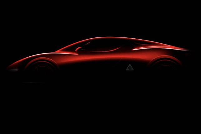 Первое изображение суперкара Alfa Romeo 8C