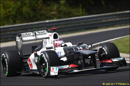 Инженеры Sauber смогли найти подход к резине Pirelli