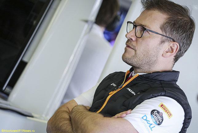 У McLaren нет машины для тестов