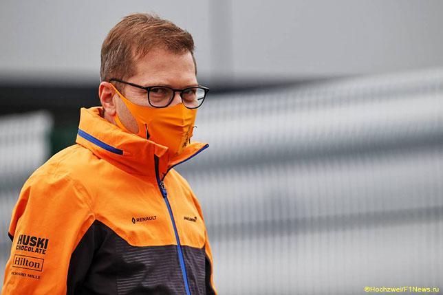 Андреас Зайдль, руководитель команды McLaren