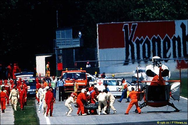 25 лет назад во время Гран При Сан-Марино в Имоле за рулём Williams погиб Айртон Сенна