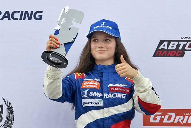 Ирина Сидоркова, фото SMP Racing