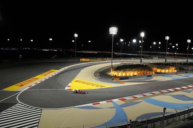 Машина Ferrari на Гран При Бахрейна 2014 года