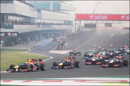 Старт Гран При Индии