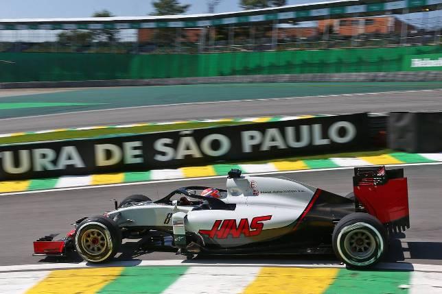Гран При Бразилии. Роман Грожан