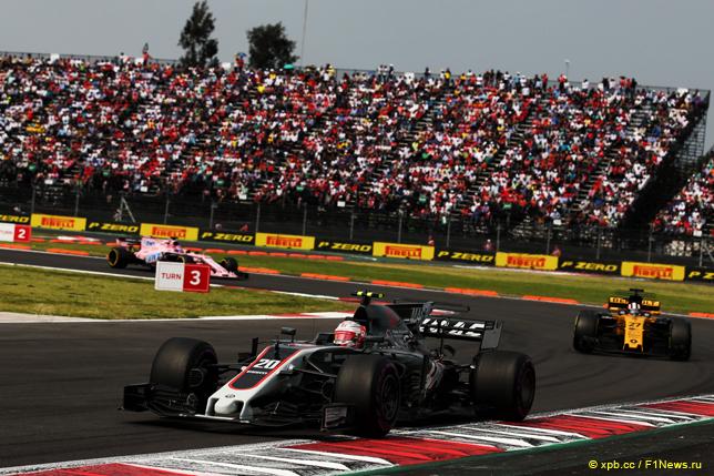 Гран При Мексики. Кевин Магнуссен