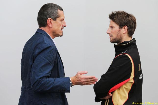 Гюнтер Штайнер и Роман Грожан
