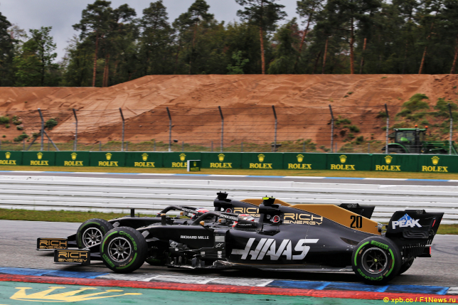 Гран При Германии. Гонщики Haas F1 Team